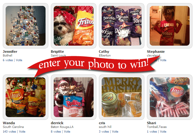 Frito Lay Snap Happy Holiday Sweepstakes