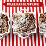 {Recipe} Gingerbread Pecan Bread Pudding!