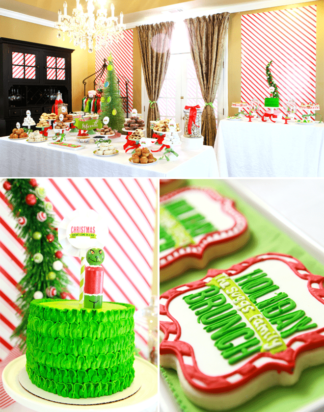 How the Grinch Stole Christmas - Brunch Style!