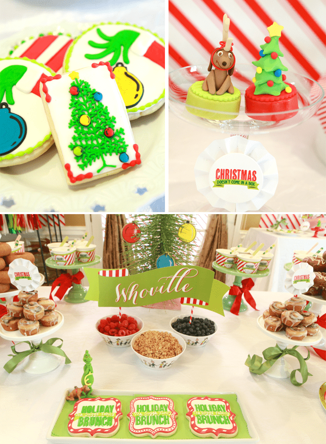 Grinch Christmas Brunch Inspiration!