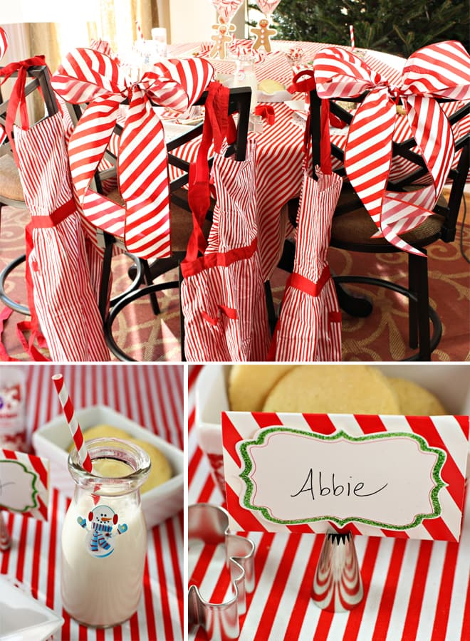 Peppermint Christmas Baking Party