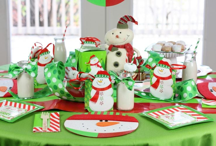 Host a Snowmen & Donuts Christmas Breakfast!
