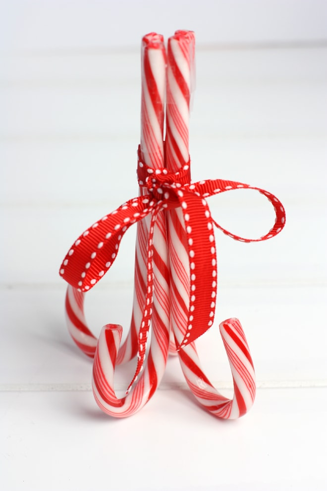 Candy Canes for Peppermint Cupcake Stand