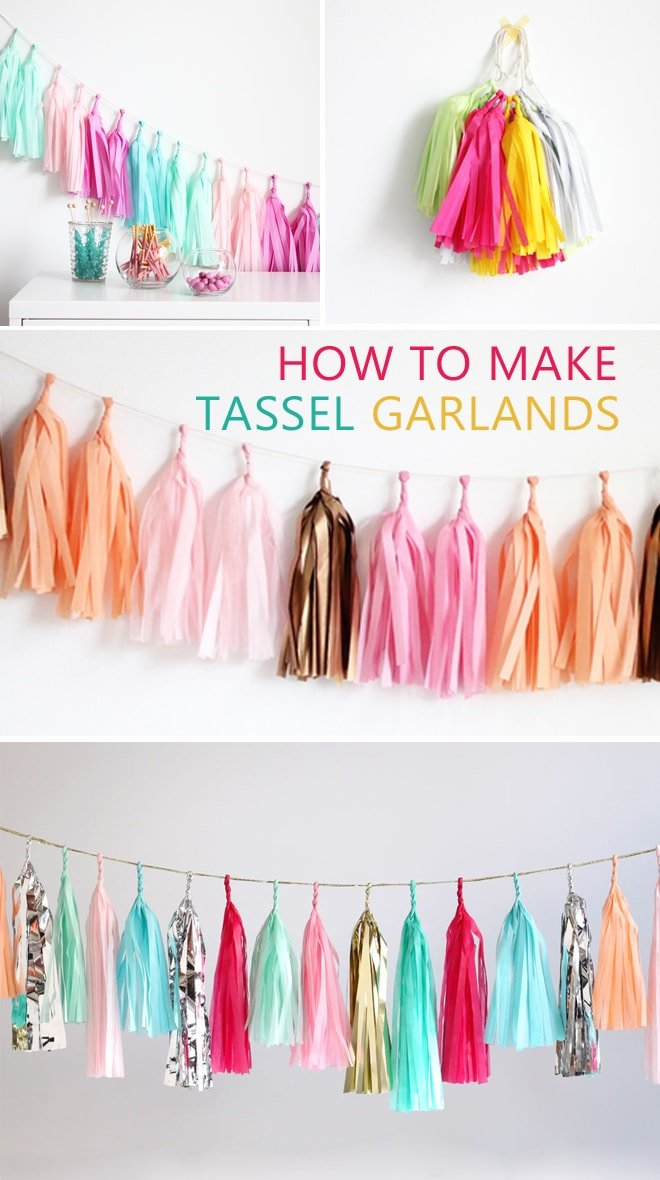 Tassel Garland Instructions