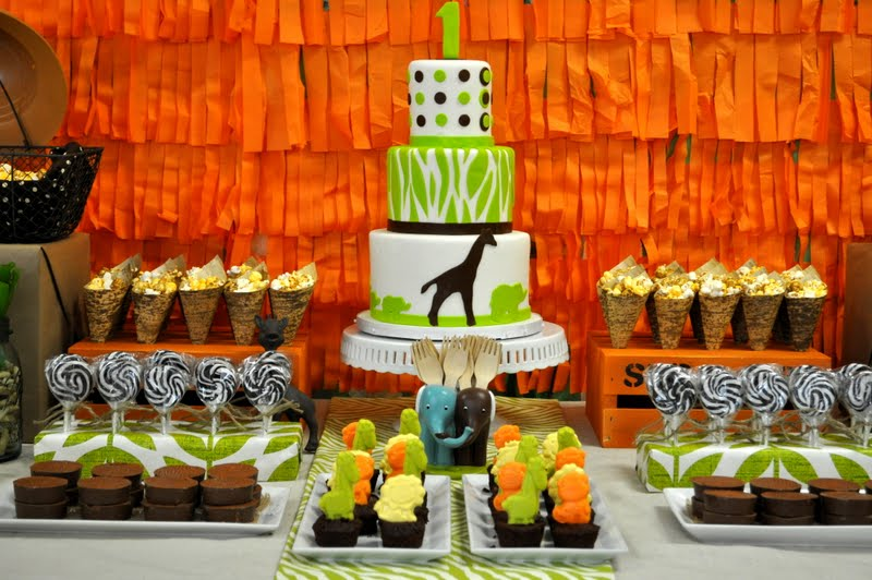 Bright & Colorful Safari Birthday Party!