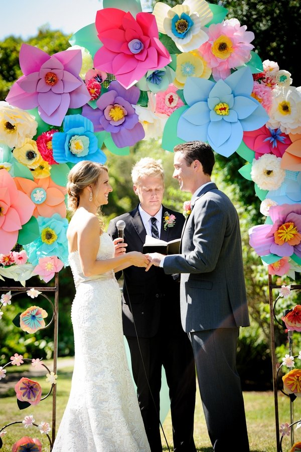Colorful Wedding with Sweet DIY Details!