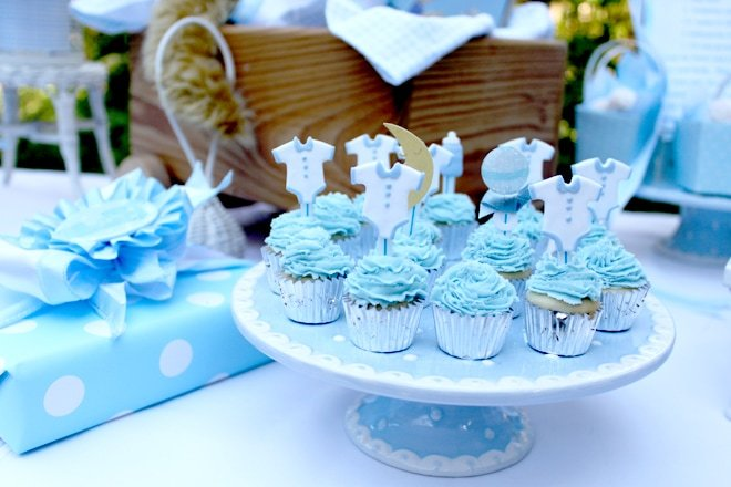 Once in a Blue Moon Baby Shower!