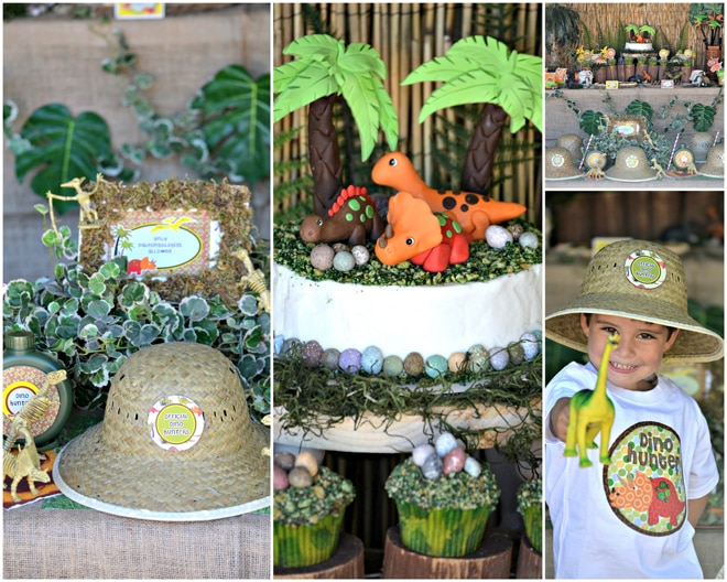 Dinosaur Party Details for a CUTE Birthday Party!