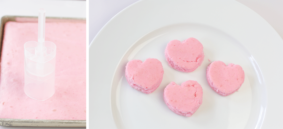 How to make Pink Heart Push-Up Pops