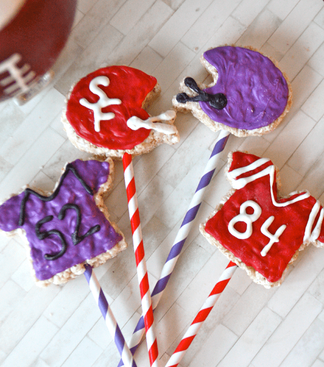 Game Time Krispy Treat Pops!