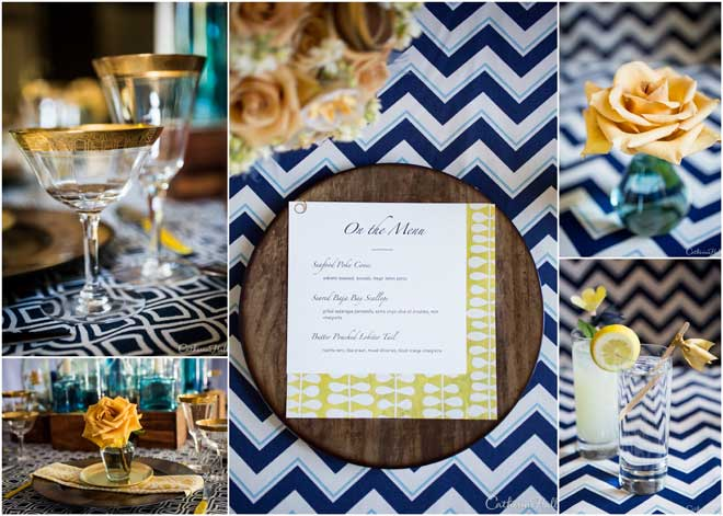 Gorgeous Blue Tablescape Design!