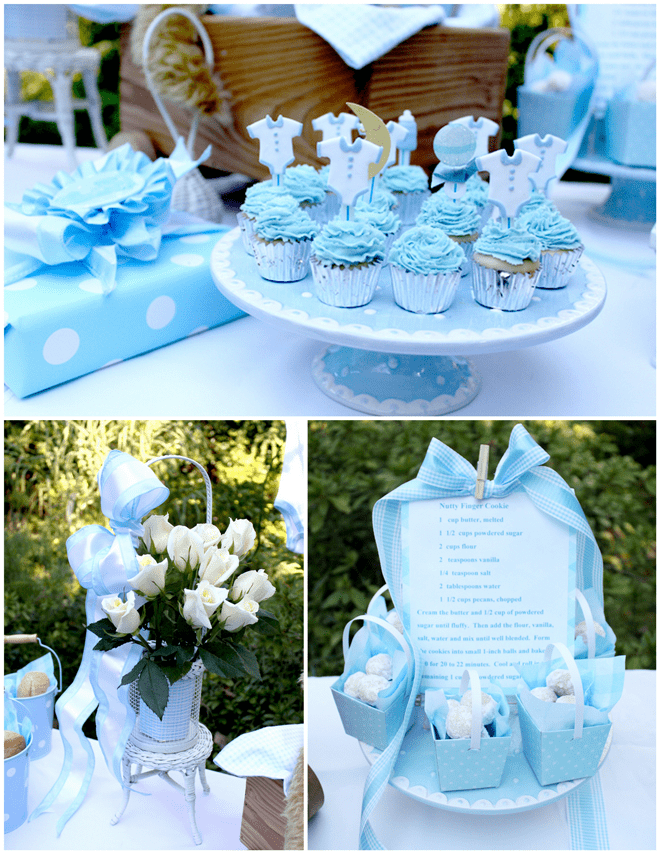Baby Boy Shower - Once in a Blue Moon Theme!