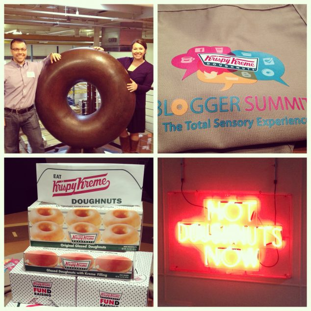 Visit to the Krispy Kreme HQ