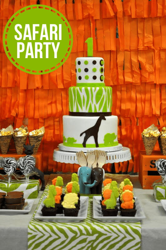 Awesome SAFARI themed birthday party!