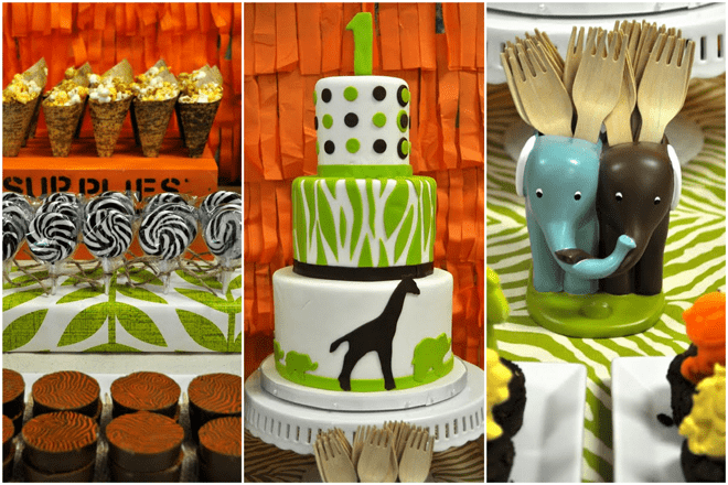 Safari Birthday Party Details!