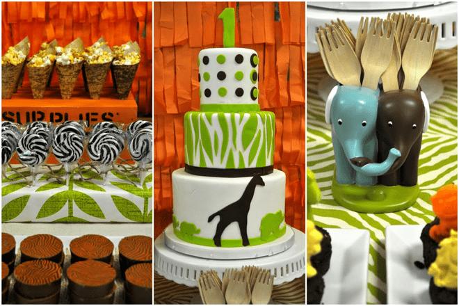 Safari Birthday Party Details!