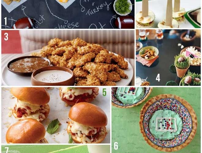 8 Super Bowl Party Recipes+ Ideas!