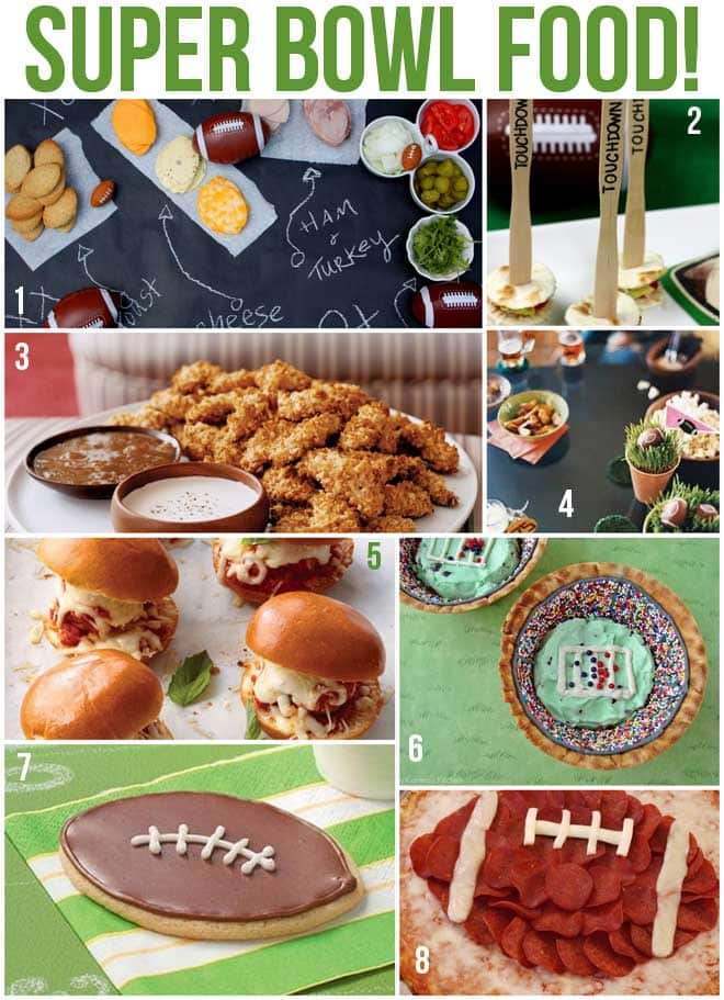 Super Bowl Food and Recipe Ideas! Perfect for Parties!