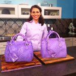 Elisa Strauss decorating handbag cakes!