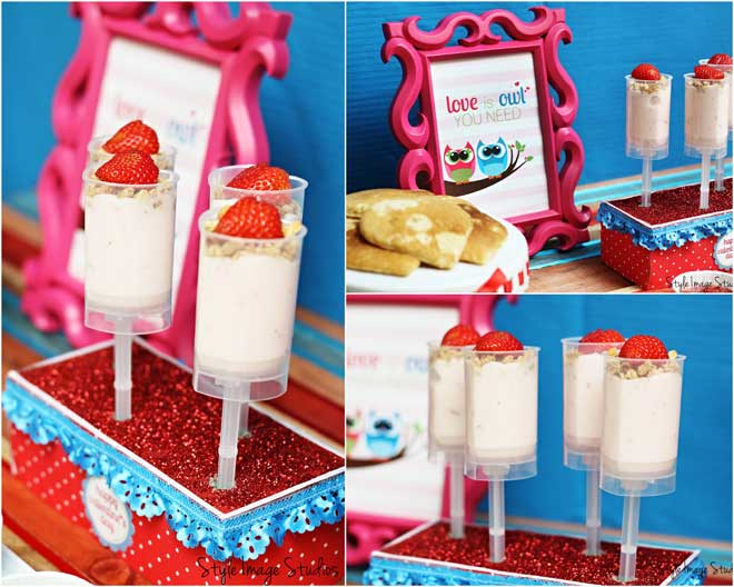 Valentine's Day Push-Up Pops