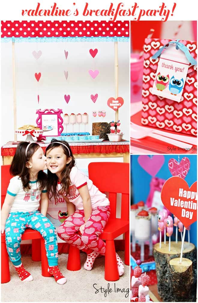 Tons of Inspiration for a Valentine's Breakfast Party!