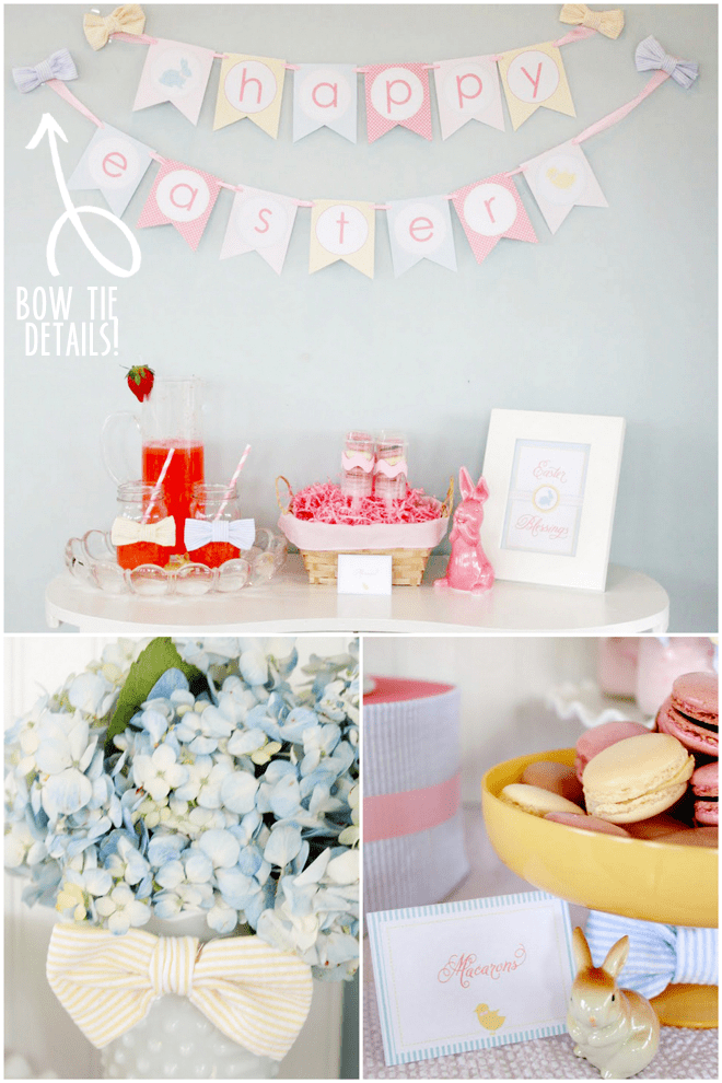 Celebrate Easter with Bow Tie Details!
