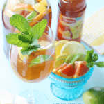 {Recipe} Citrus Iced Tea Sangria!