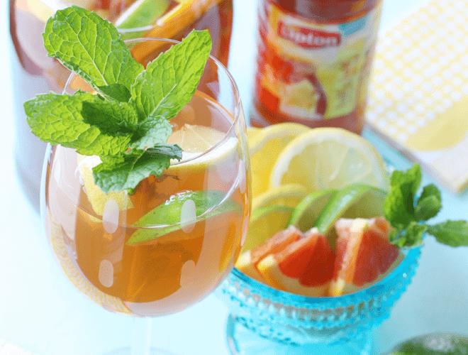{Recipe} Citrus Iced Tea Sangria!