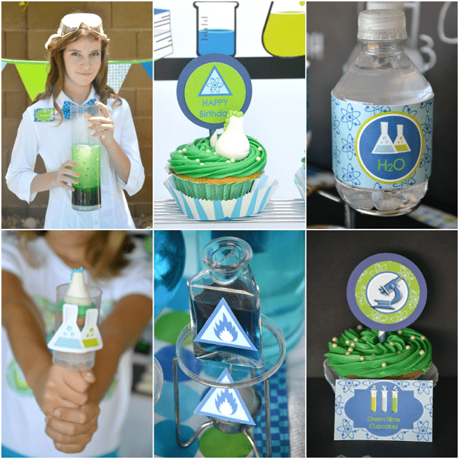 Clever Mad Scientist Party Pictures!
