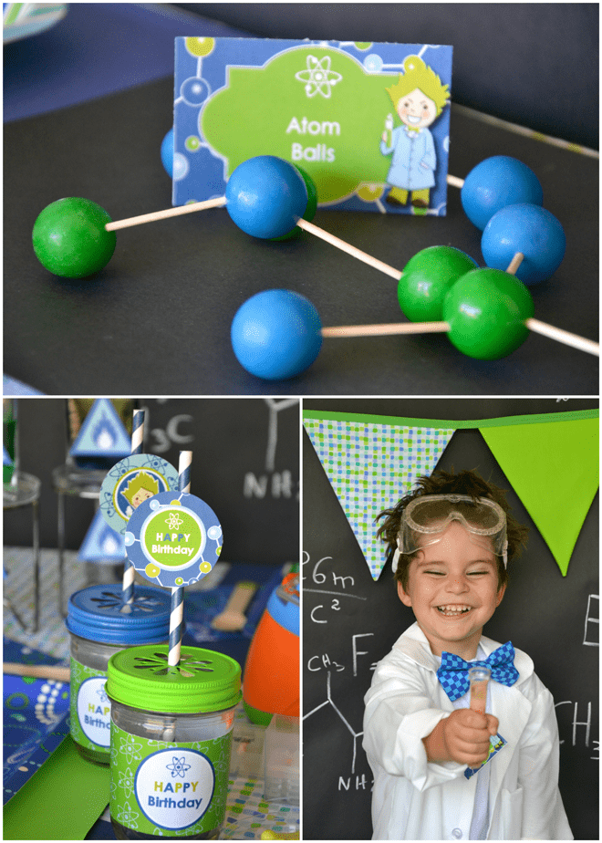 Clever Science themed Birthday Party!