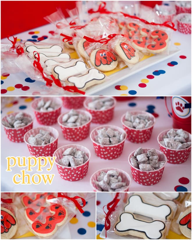 Clifford the Big Red Dog Party Treats!