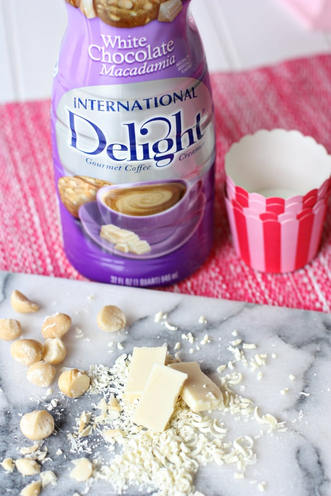How to make frosting with coffee creamer!