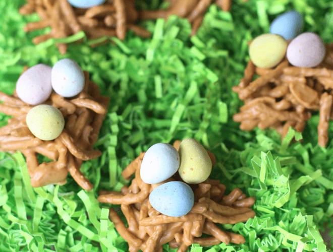 DIY Cute Easter Birds' Nest Treats!