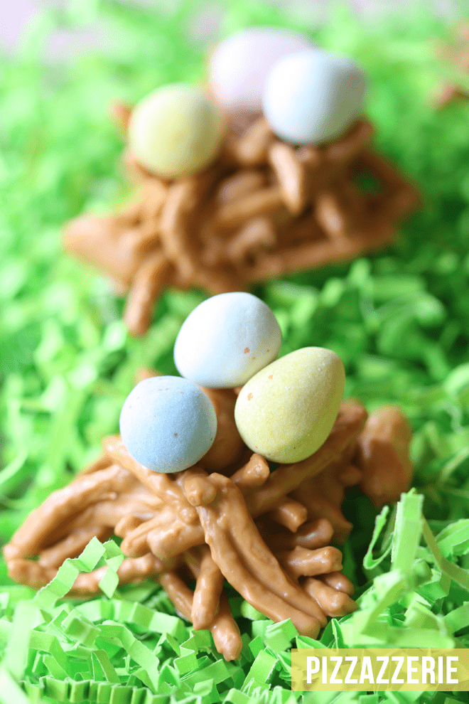 How to make Easter Egg Nests!