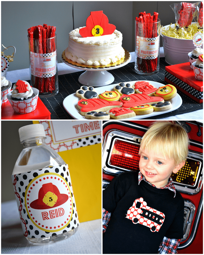 Firefighter Birthday Party Ideas!