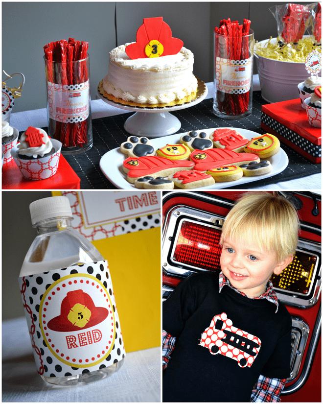 Firefighter Birthday Party Ideas!