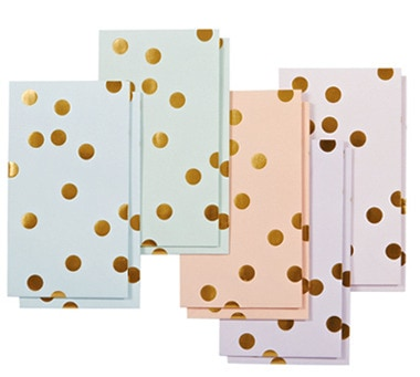 Gold Polka Dot Treat Bags