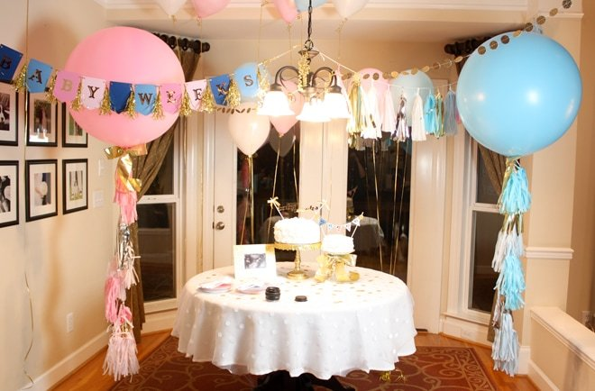 Pink and Blue Gender Reveal