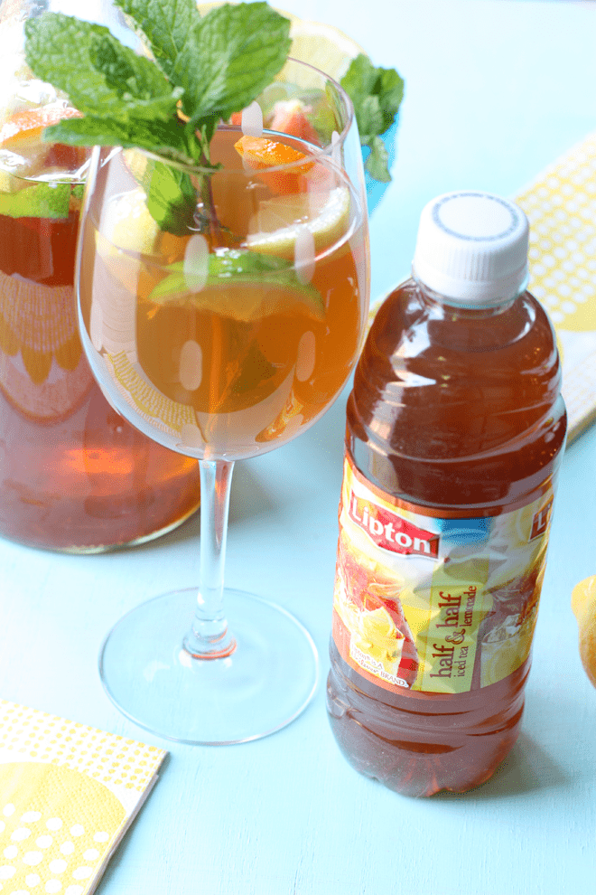 How to Make Sangria with Lipton Iced Tea
