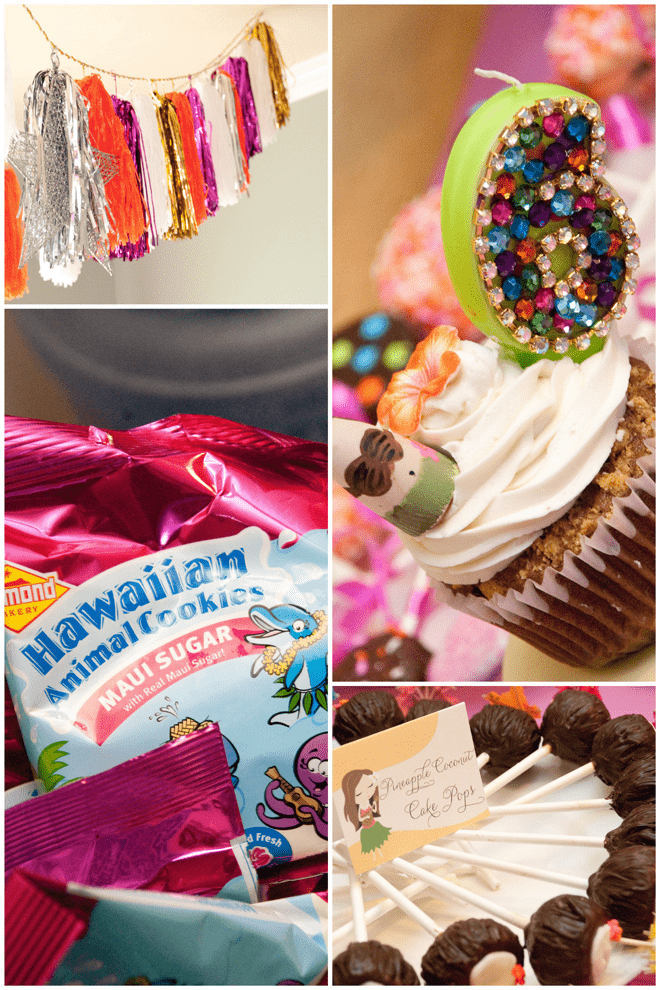 Hawaiian Luau Birthday Party Details