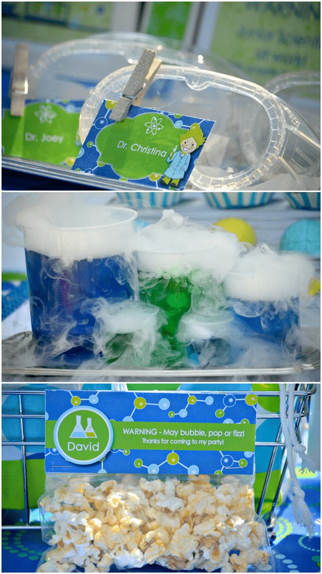 Clever Mad Scientist Birthday Party Details