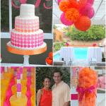 Preppy Pink + Orange Party!
