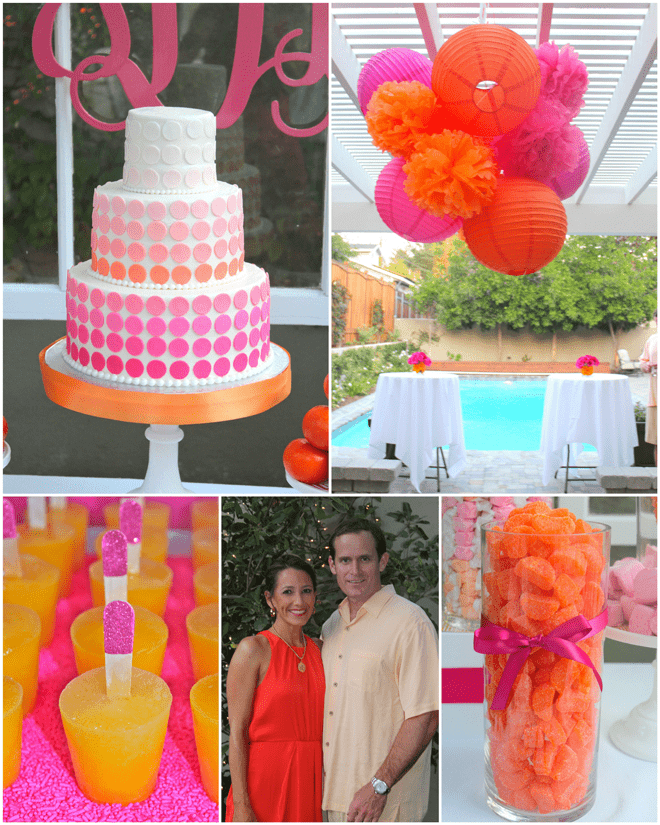 Preppy Pink + Orange Party!