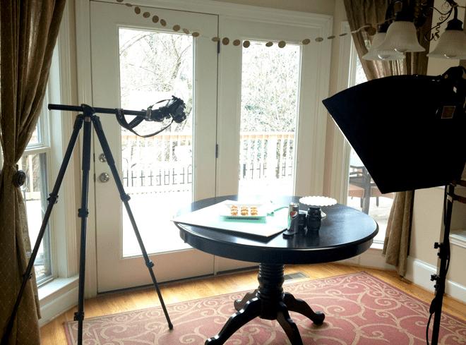 Blog Photography Set-Up