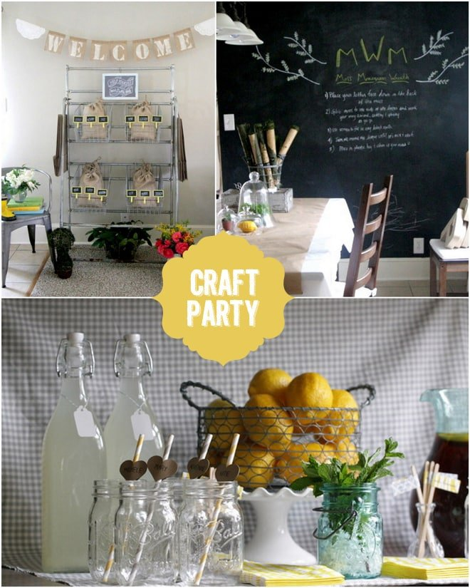 Host a Spring Craft Party!