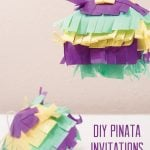 How to make a DIY Pinata Invitation!