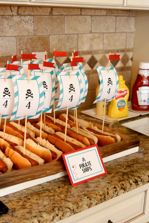 Pirate Party Hot Dogs