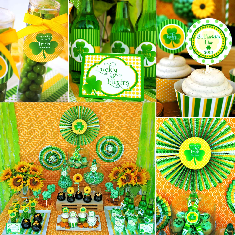 St. Patrick's Day Dessert Party!