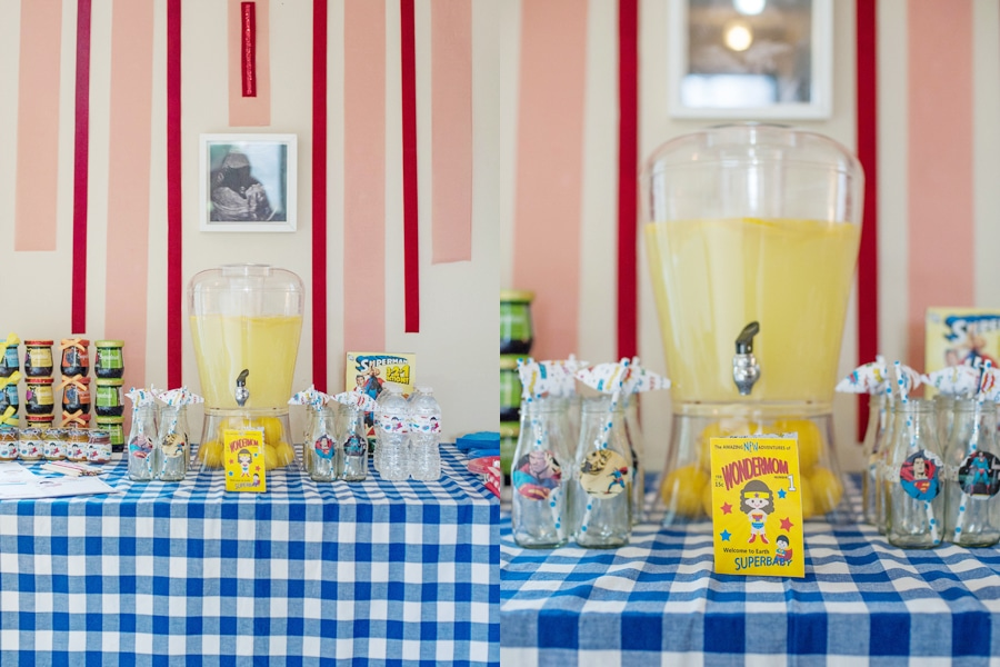"Cute ""SUPER SHOWER"" Baby Shower Theme!"