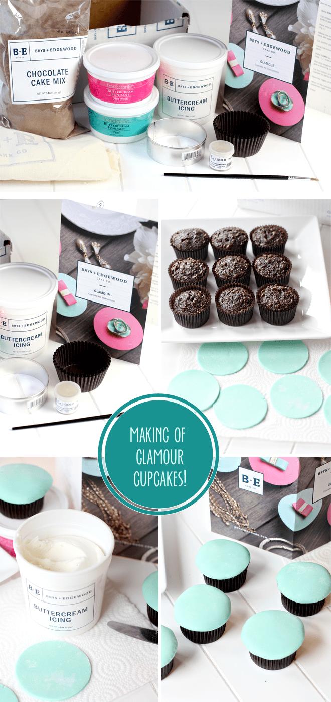 Making of Brys + Edgewood Cupcakes!